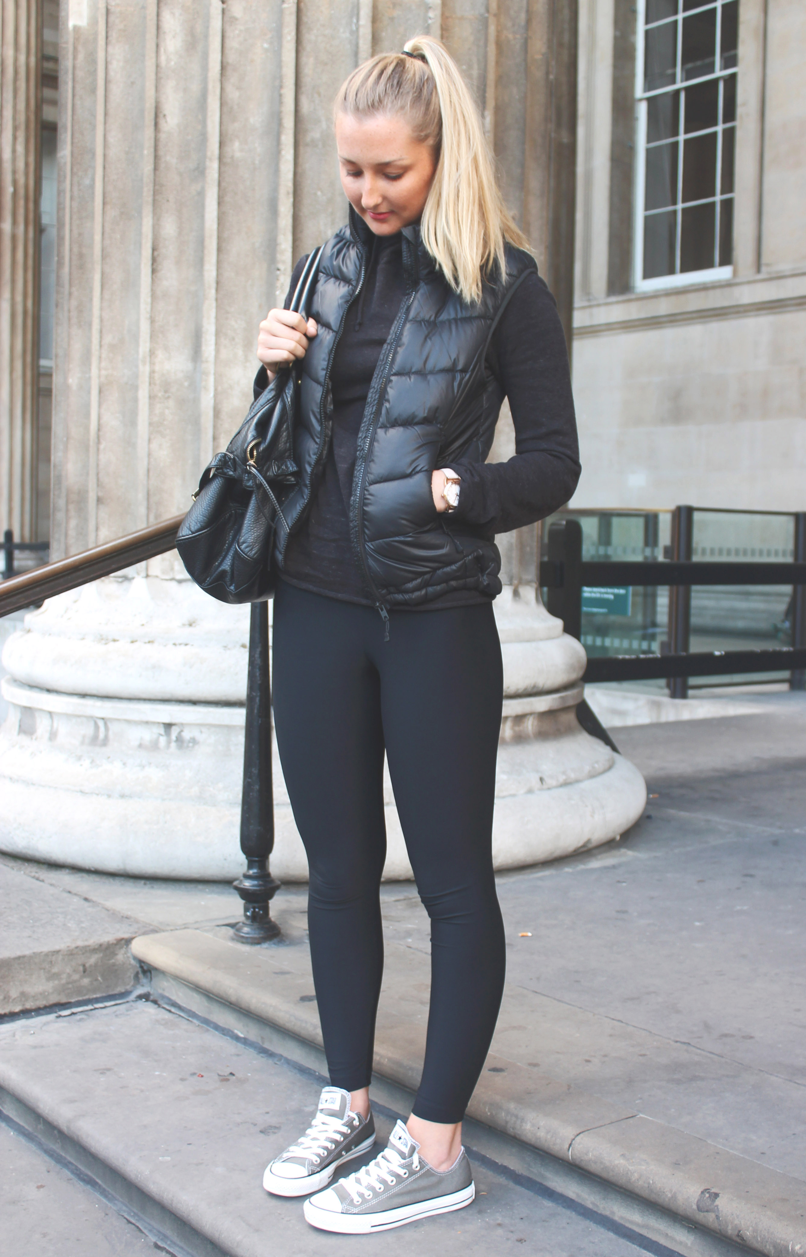 all black converse outfit - photo #27